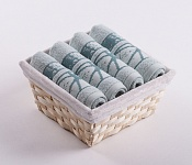 Towel Basket Dove 4pcs light mint