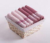 Towel Basket Flora 6pcs