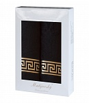 Towel Gift Box Grenada 2 pcs black