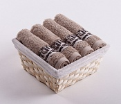 Towel Basket Luxor 4 pcs beige