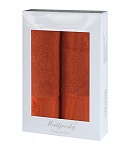 Gift wrapping towels Mara 2pcs dark terra