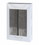 Gift wrapping towels Mara 2 pcs dark beige