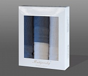 Gift wrapping towels Mita 4 pcs blue and light blue