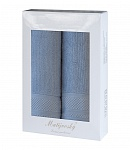 Gift wrapping towels Mita 2 pcs blue/grey