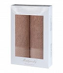 Gift wrapping towels Mita 2pcs light hazelnut