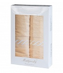 Gift wrapping towels Royal apricot 2 pcs