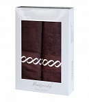 Towel Gift Box Royal choco 2 pcs