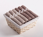 Towel Basket Royal mocca 6pcs