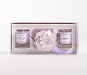 Candle Giftset violet