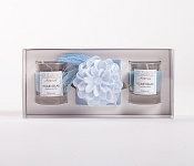 Candle Giftset blue