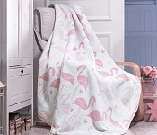 Blanket Pink Flamingo