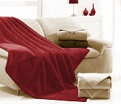 Blanket Ruby red