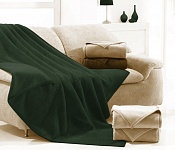 Blanket Ruby dark green