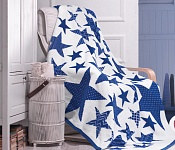 Blanket Star Blue