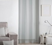 Decorative curtain Lilien pigeon grey