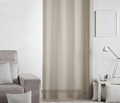 Unicolour Curtain Lilien Coffee