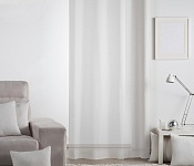 Unicolour Curtain Lilien Natural White