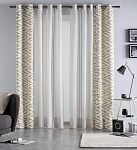 Combined curtain Anabel Sand