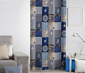 Decorative curtain Andalouse