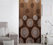 Decorative curtain Caramel