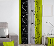 Decorative curtain Eternity Green