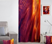 Decorative curtain Fire