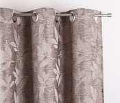 Decorative curtain Gaia Brown