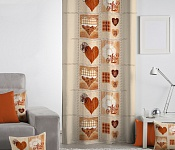 Decorative curtain Heart