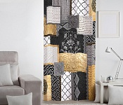 Decorative curtain Kartago