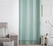 Unicolour Curtain Lilien Petrol