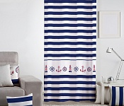 Decorative curtain Marine