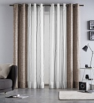 Combined curtain Martina Choco