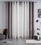 Combined curtain Martina Lila