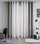 Combined curtain Martina Petrol