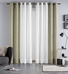 Combined curtain Martina Sand