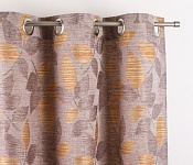 Decorative curtain Melissa Orange