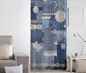 Decorative curtain Merletto