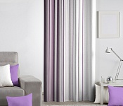 Decorative curtain Modern Art Lila