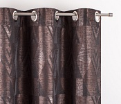 Decorative curtain Naomi Dark Brown