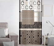 Decorative curtain Nomine