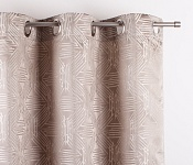 Decorative curtain Olympia Latte