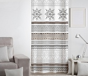 Decorative curtain Snow