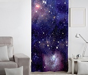 Decorative curtain Universum