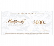 E-Gift Card for 3000 CZK