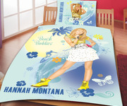 Bedding Hannah Montana beach