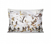 Pillowcase Children´s Games in Winter