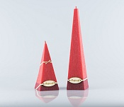 Candle Pyramid red