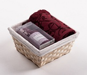Towel Basket Denton bordo - bordo candle set