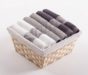 Towel Basket Elegant 6pcs mix