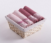 Towel Basket Flora 4pcs